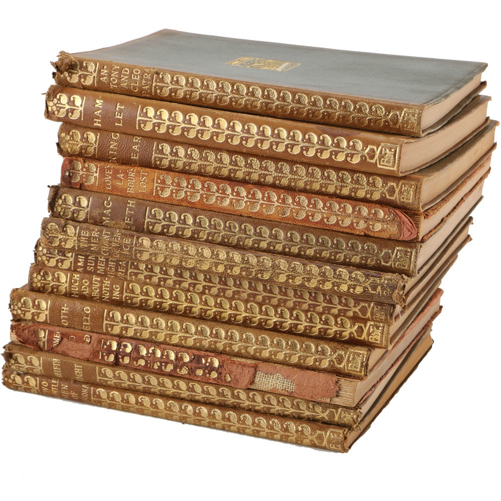 Twelve Volume Collection of Shakespeare's Works