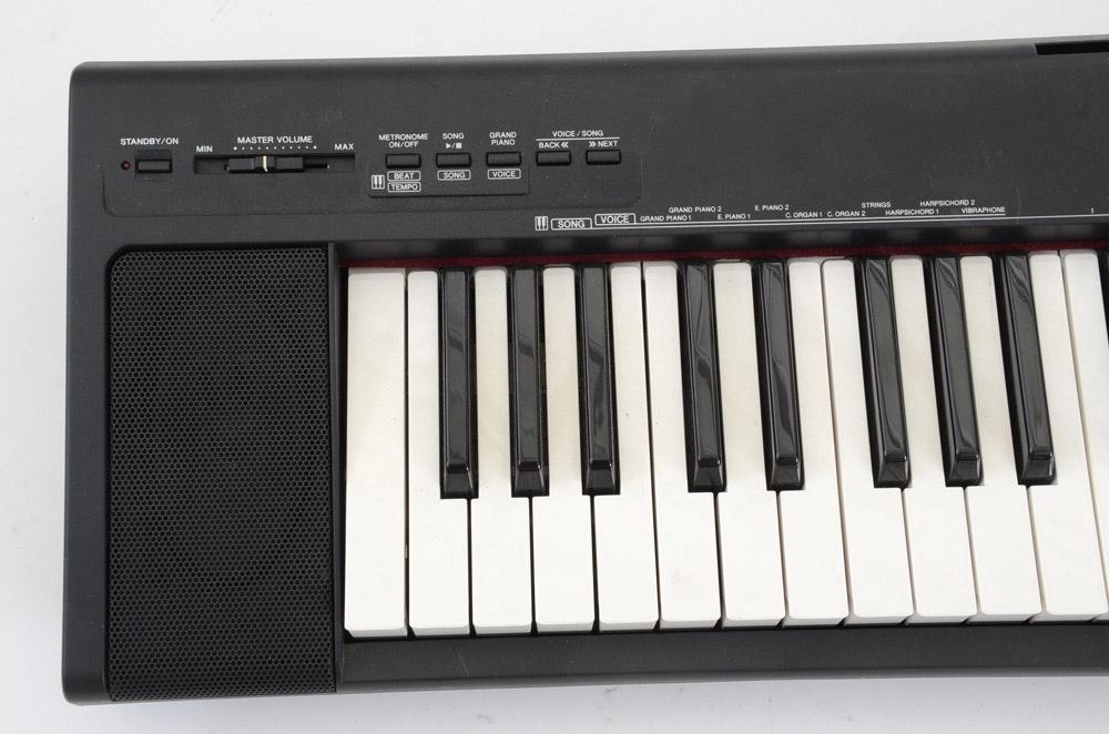 yamaha portable grand np 30 keyboard ebth. Black Bedroom Furniture Sets. Home Design Ideas