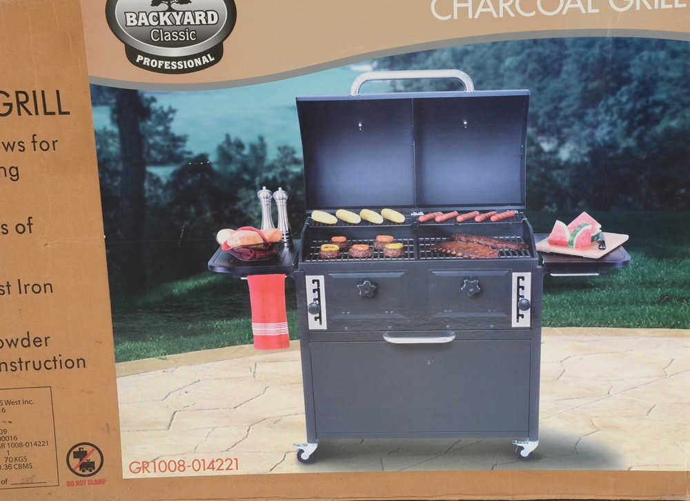 """Backyard Classic Professional"" Twin Chamber Charcoal ..."