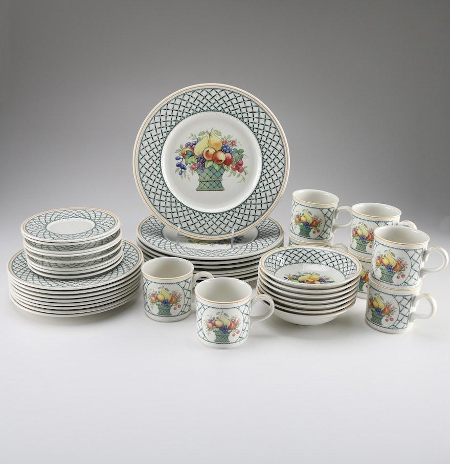 Villeroy boch basket china set ebth for Villeroy boch sale