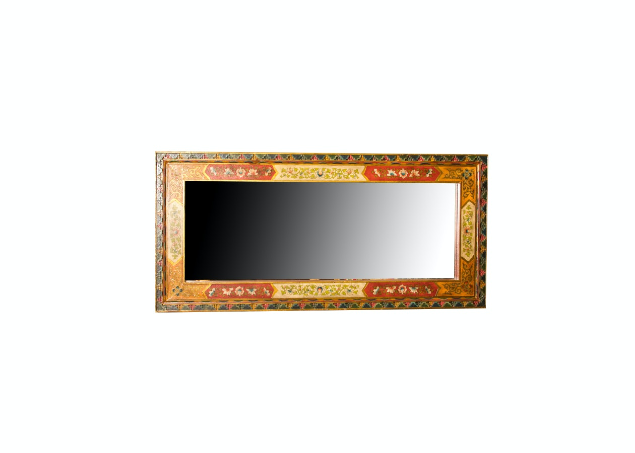 Hand Painted Wall Mirror