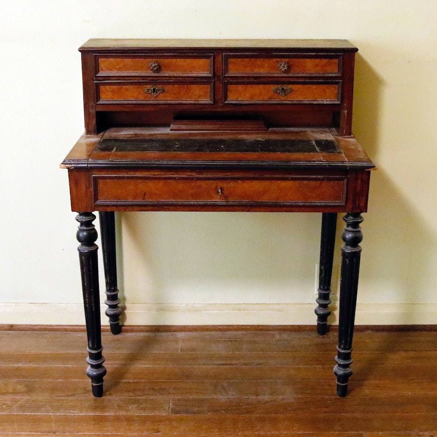 Antique Wooden Writing Desk