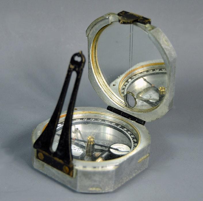 Vintage Dietzgen Pocket Survey Compass