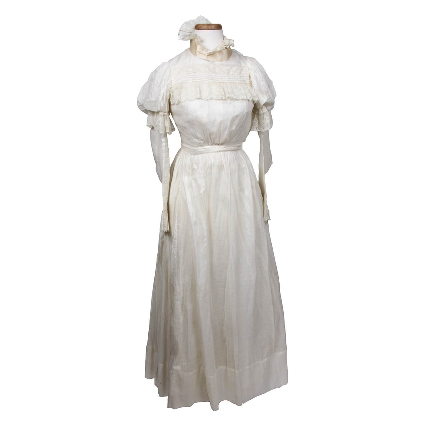Edwardian Wedding Dress : EBTH