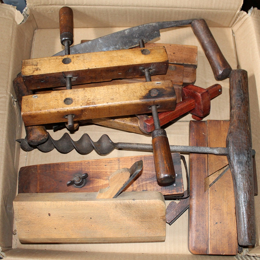 Antique Woodworking and Other Hand Tools EBTH