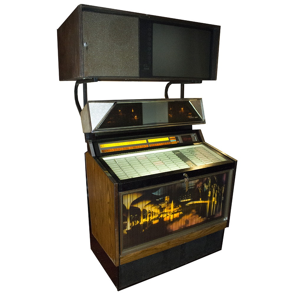 Rowe AMI Jukebox and Projector
