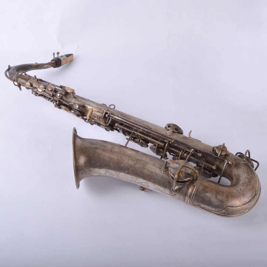 Vintage CG Conn Alto Saxophone