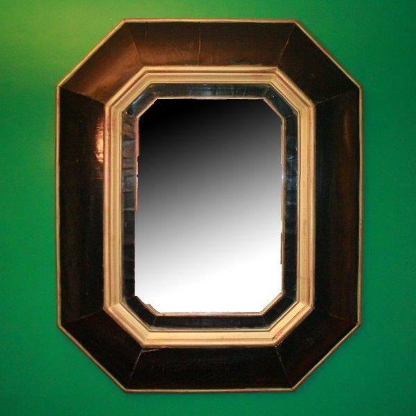 Substantial Framed Wall Mirror