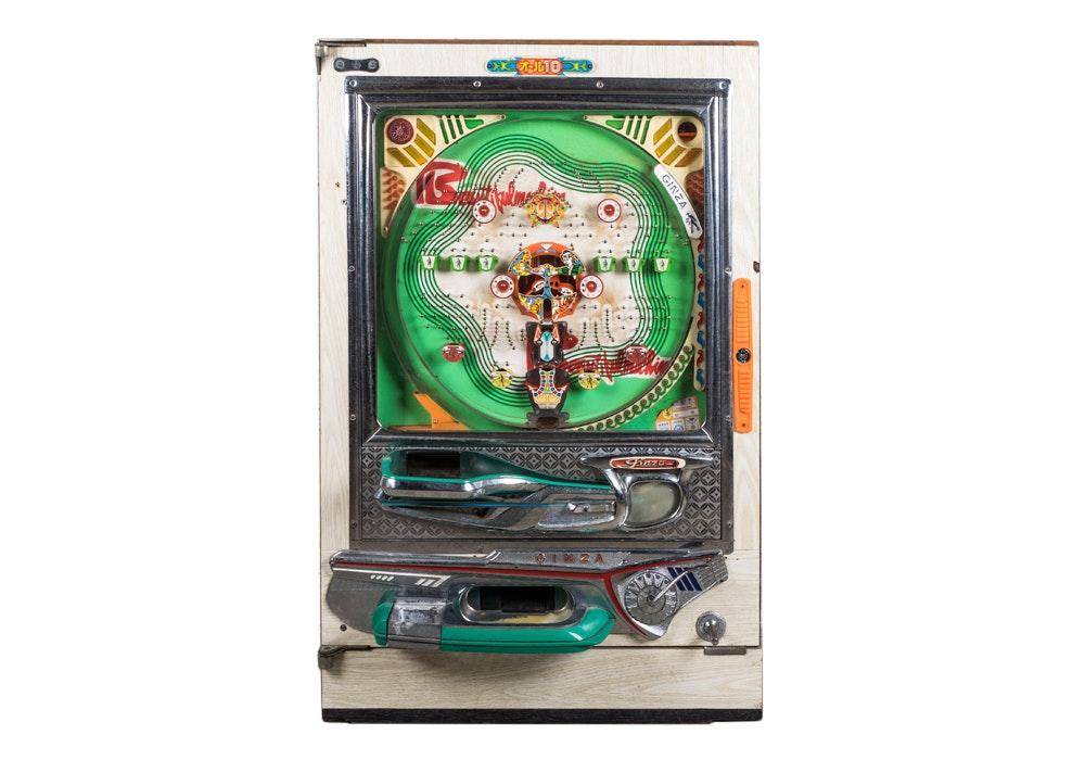 Vintage Ginza Pachinko Machine