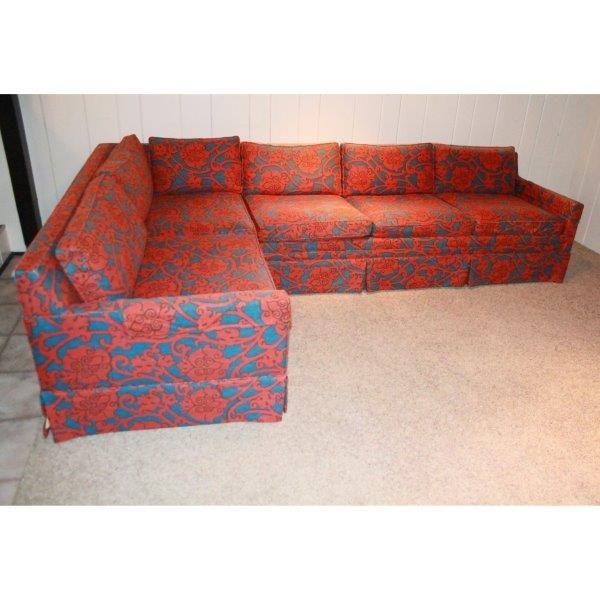 Custom Designed Flaír Inc. Sectional Sofa