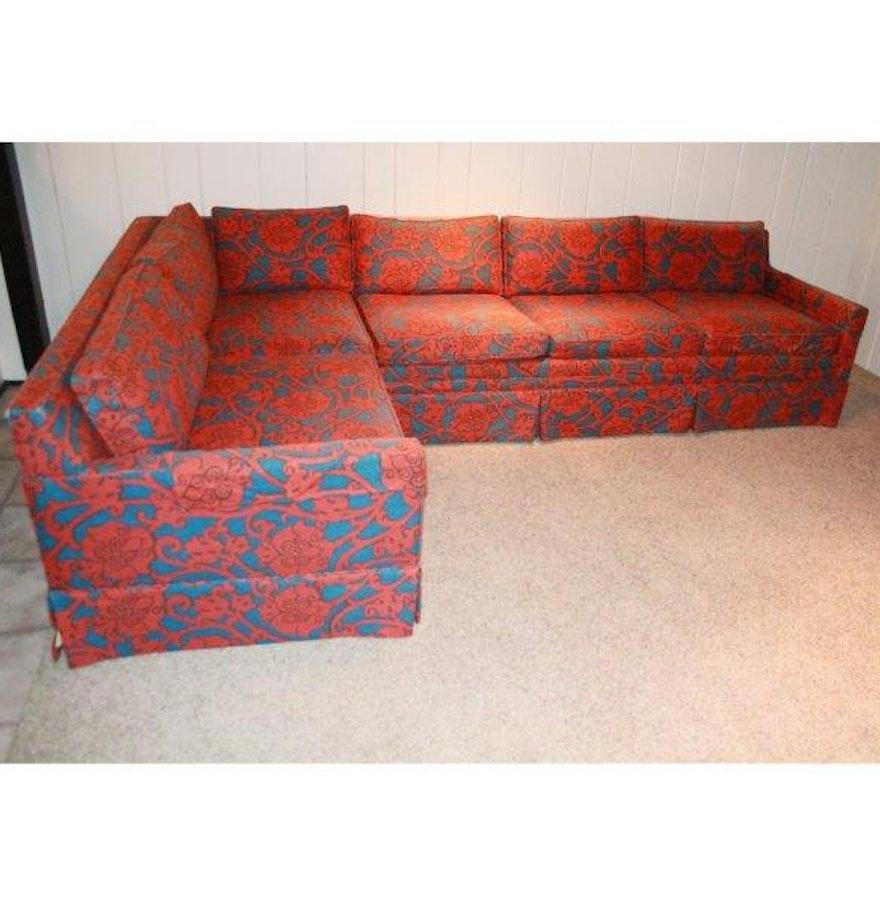 Custom Designed Fla R Inc Sectional Sofa Ebth