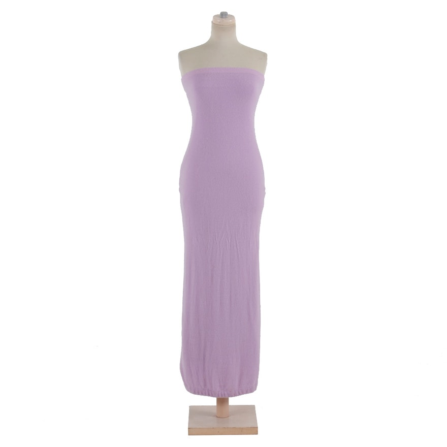 Ralph Lauren Lavender Cashmere Tube Dress : EBTH