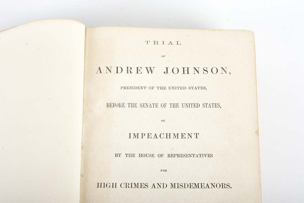 a review of the popular impeachment trial of andrew johnson in the us The impeachment of andrew johnson »impeachment, trial, and acquittal: articles related to the impeachment, trial the senate as a court of impeachment for the trial of andrew johnson (illus) april 11, 1868, pages.