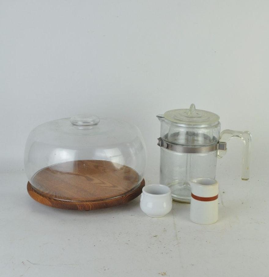 Glass French Press Coffee Maker Set : EBTH