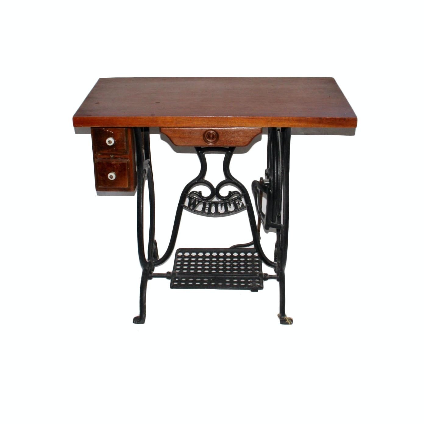 Singer Repurposed Sewing Table