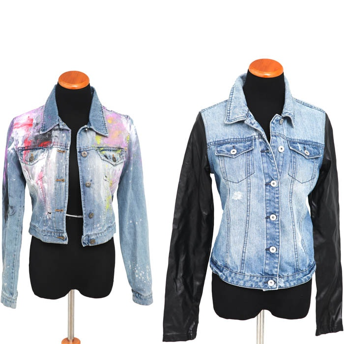 Collection of Denim Jackets, One Designed by Pam McMahon