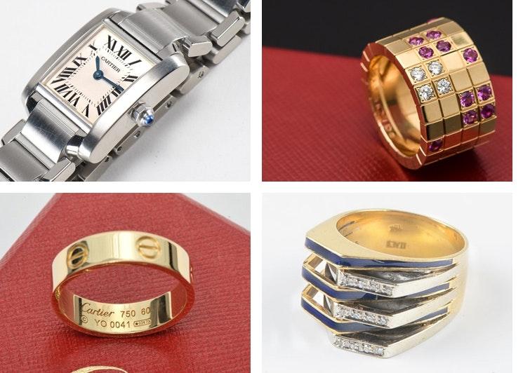 307ea8adeba Vintage Cartier Jewelry