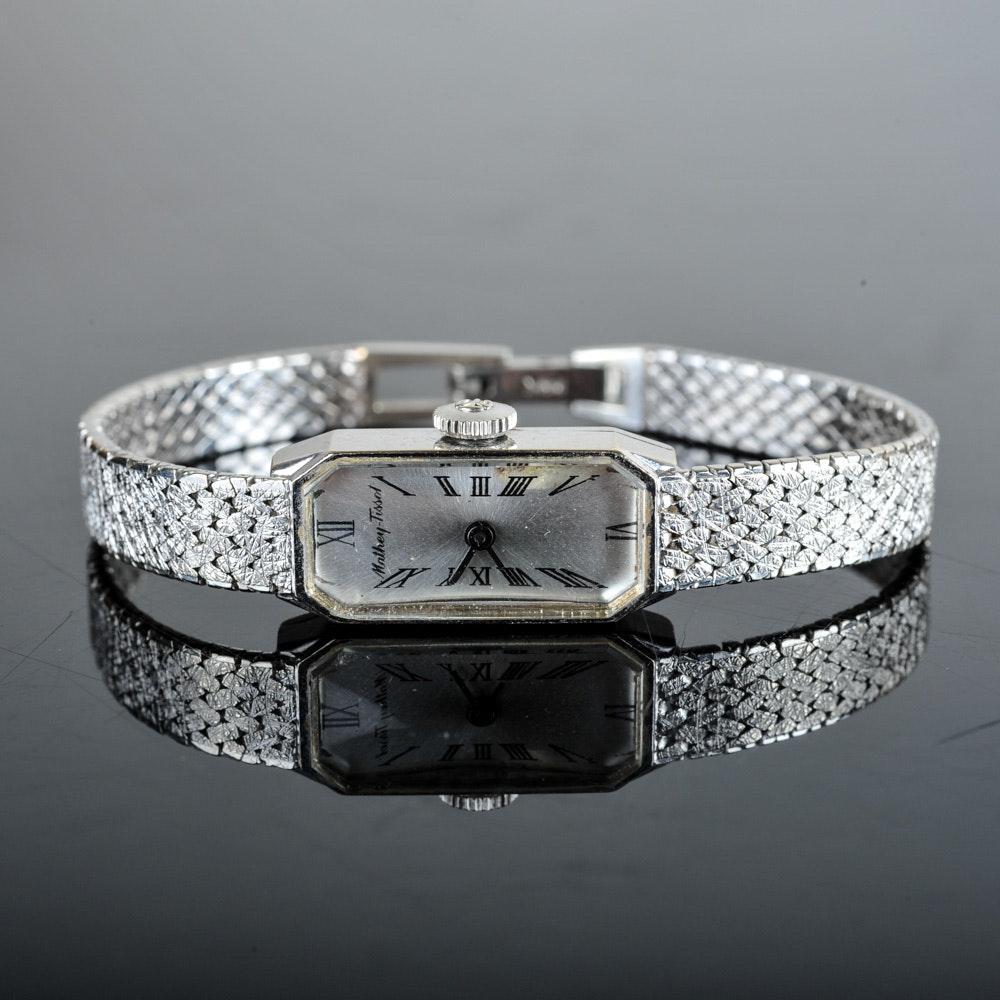 Women's 14K White Gold Mathey-Tissot Watch