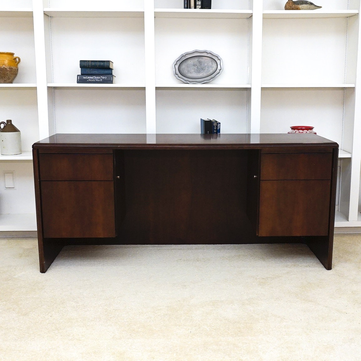 Solid Wood Desk By Indiana Desk Company ...