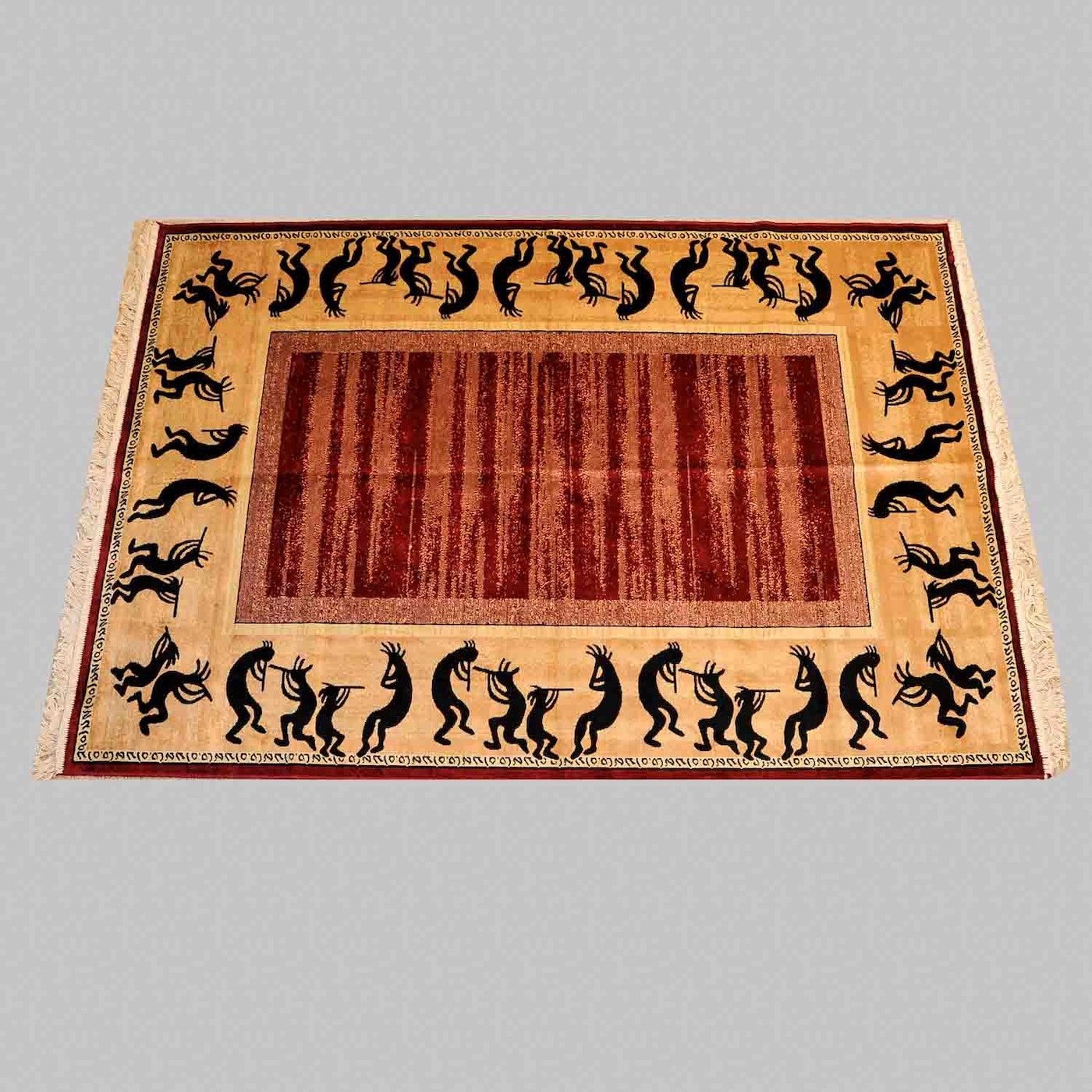 Quot Phoenix Collection Quot Kokopelli Rug Ebth