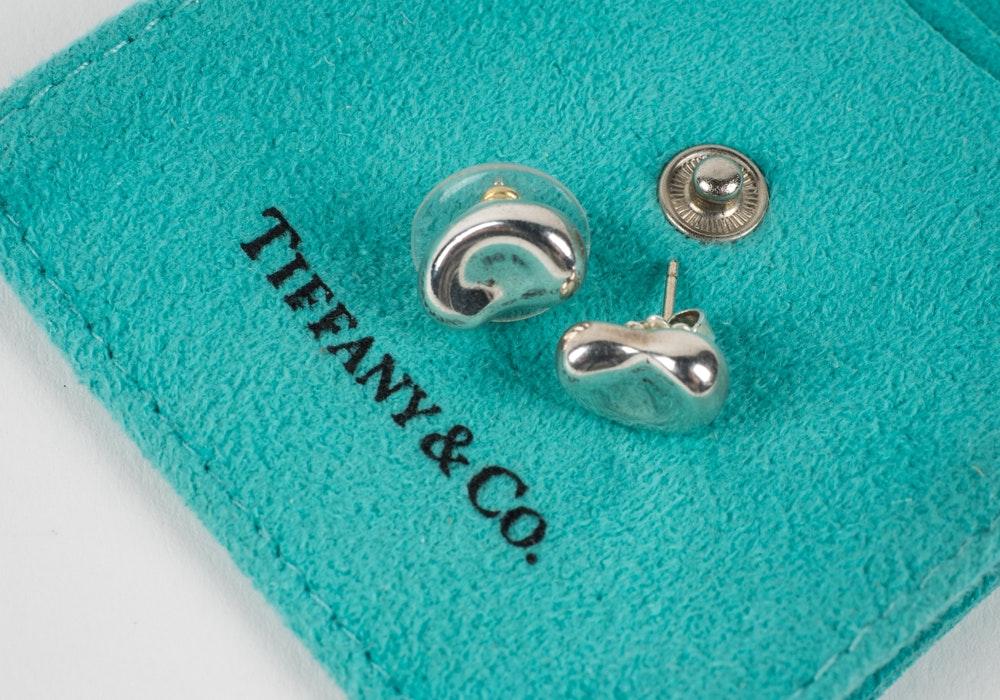 Tiffany & Co. Elsa Peretti Bean Earrings