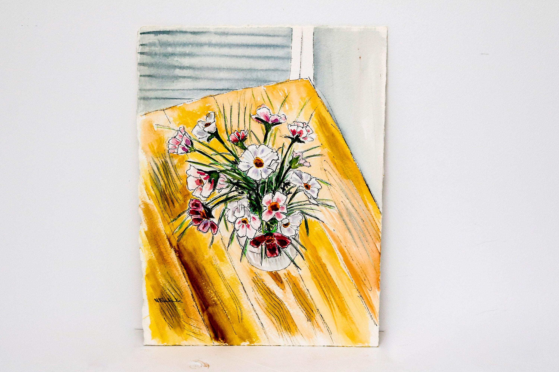 Original Norman Blankenship Watercolor