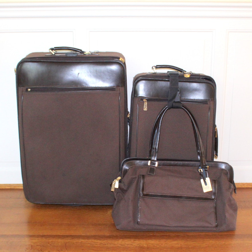 d45a1bb8c538 Adrienne Vittadini Luggage Set   EBTH