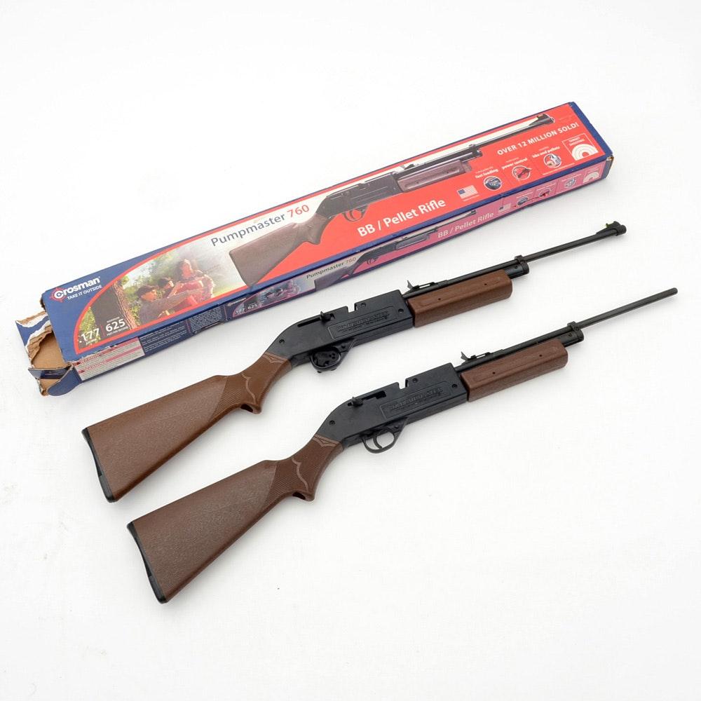 Crossman Pumpmaster 760 BB/Pellet Rifles