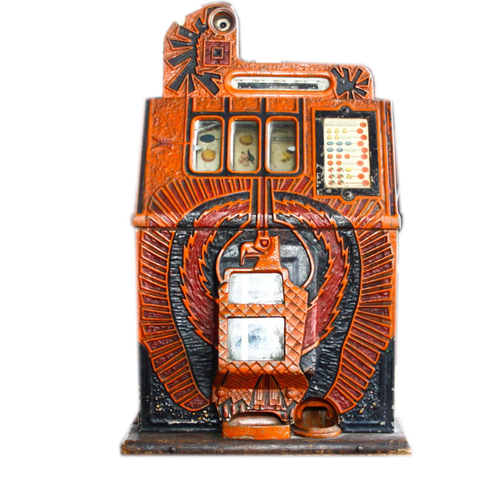 1940s Mills War Eagle Slot Machine