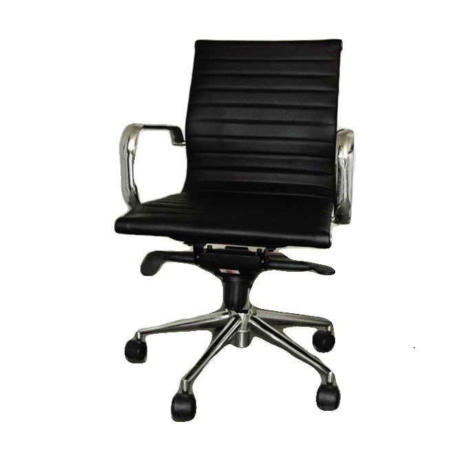 Reproduction of a Herman Miller Eame Aluminum Group Office Chair