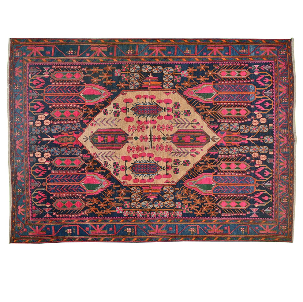 Hand Knotted Persian Sirjan Rug
