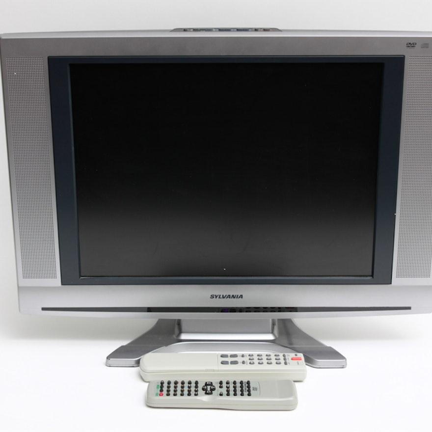 Sylvania 20 LCD Television With DVD EBTH