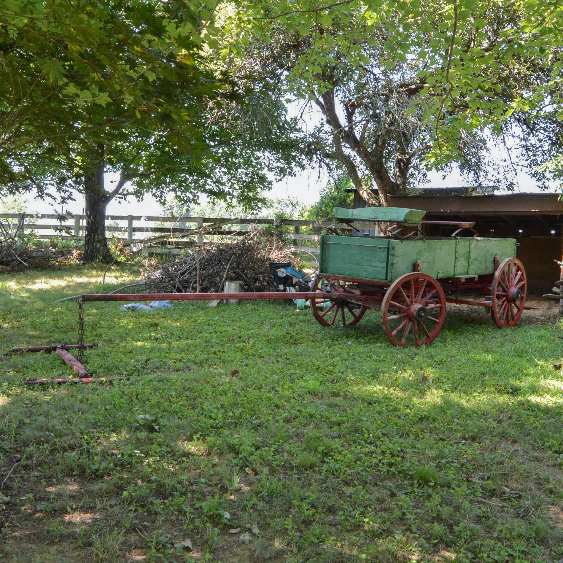 Antique OwensborO Wagon