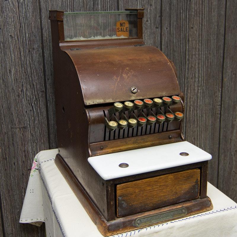 1918 National Cash Register Co. Cash Register