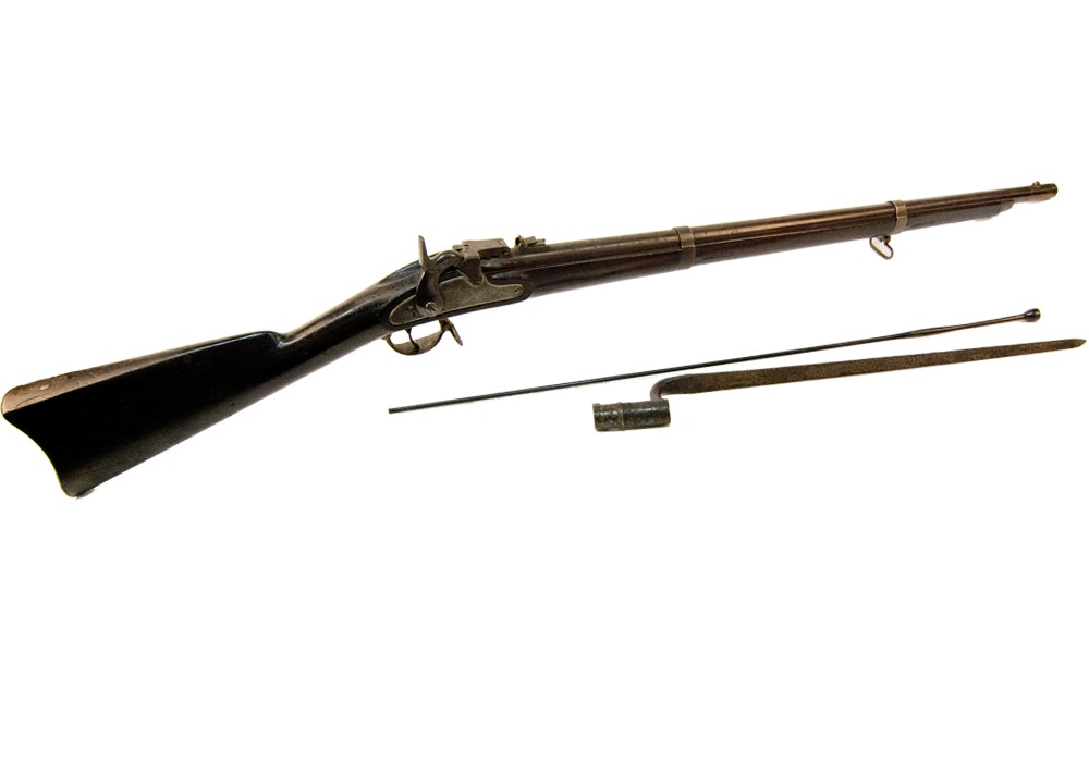 Springfield 1863 Rifle Musket with a Miller Conversion