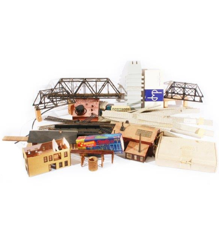 Model Train Supplies : Ho model train tracks landscapes and accessories ebth