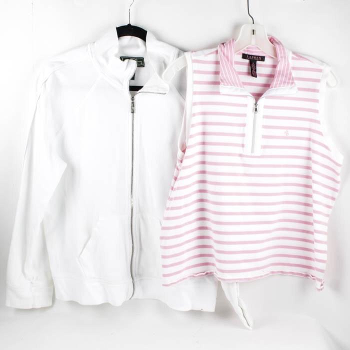 Ralph Lauren Polo Sleeveless Polo and Zip Up Jacket