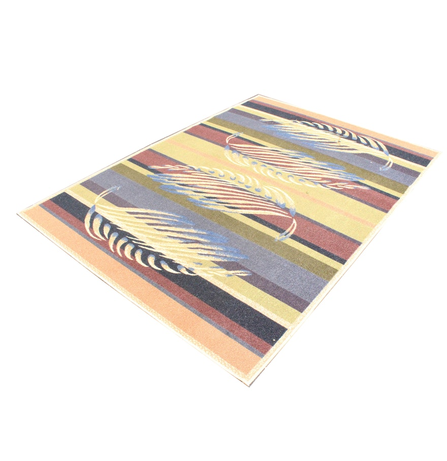 Multicolored Area Rug By Shaw Living EBTH