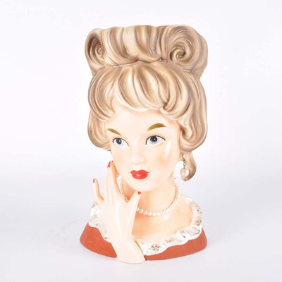 Vintage Relpo Head Vase