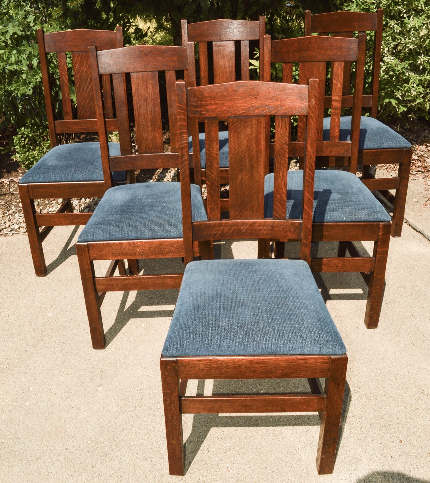 Arts And Crafts Style Dining Chairs Ebth