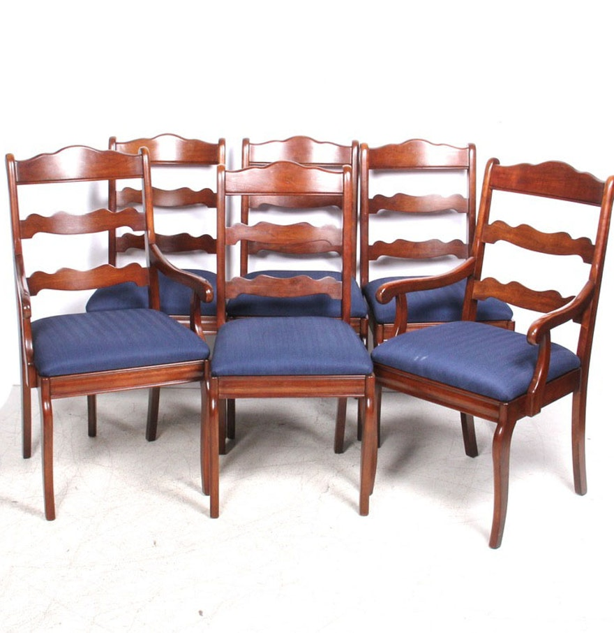 Pennsylvania House Ladder Back Dining Chairs : EBTH