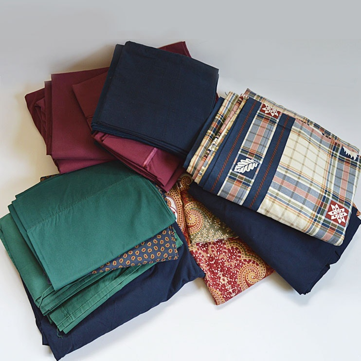 Ralph Lauren Cotton Queen and Full Bed Linens, with Others