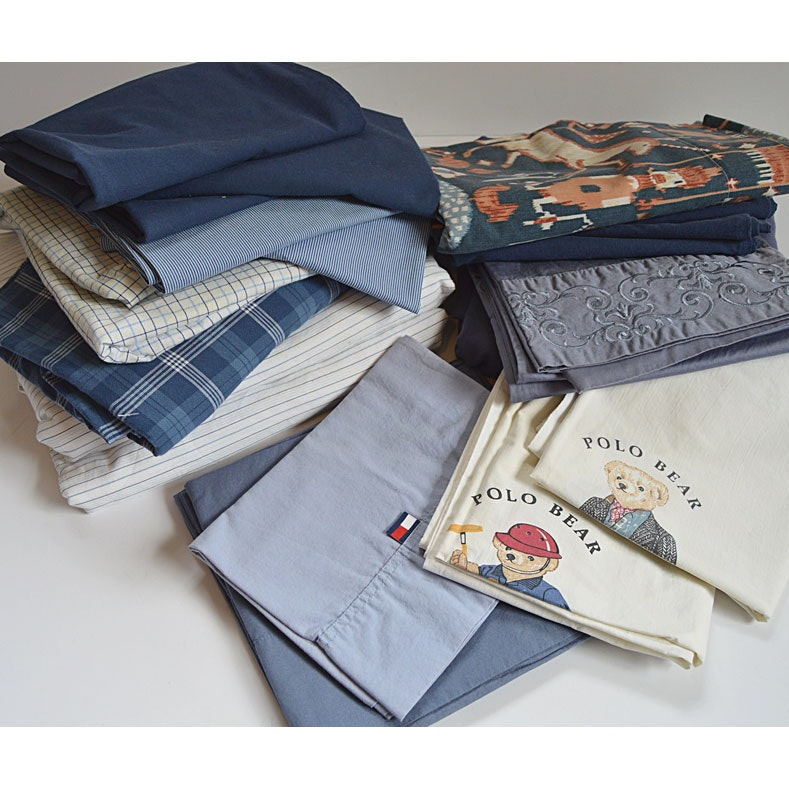 Ralph Lauren Cotton Bed Linens, with Others