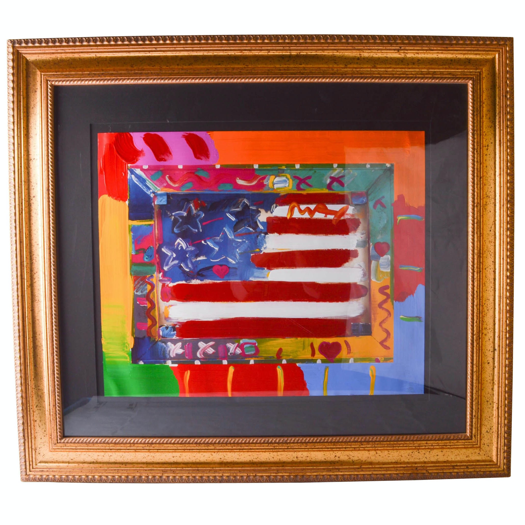 """Peter Max Mixed Media """"Eastern Europe Museum Tour"""""""