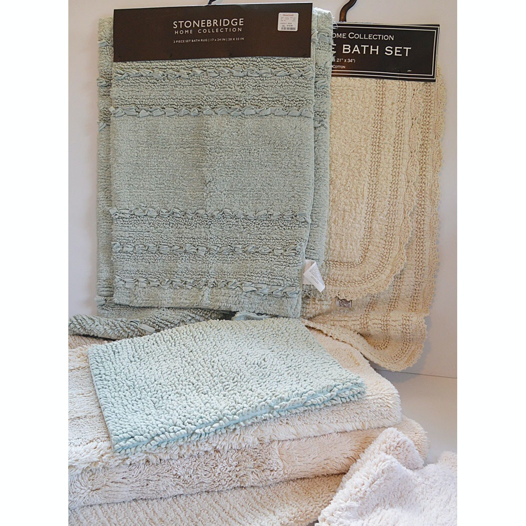 Collection of Bath Sets and Mats