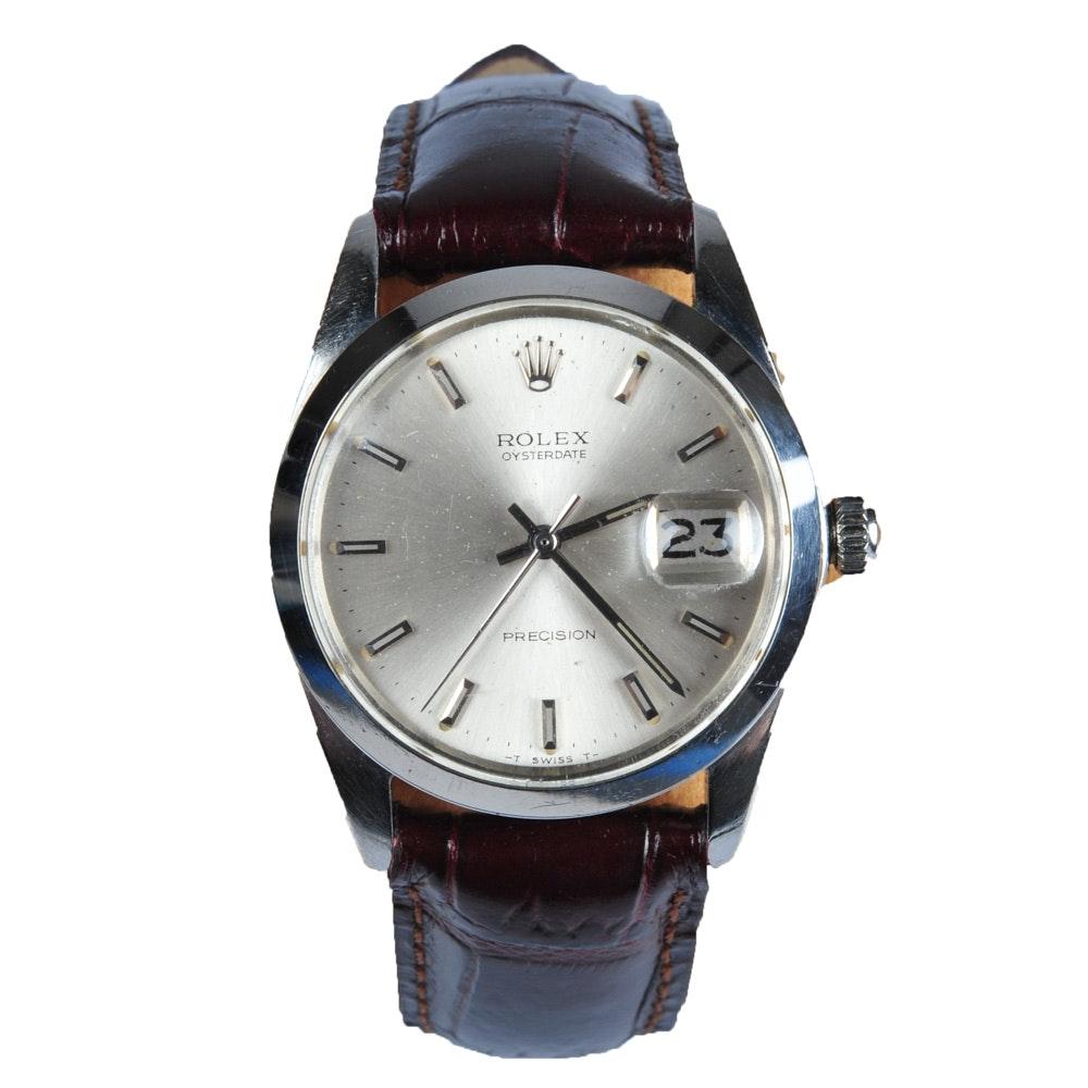 Men's Rolex Oysterdate Wristwatch