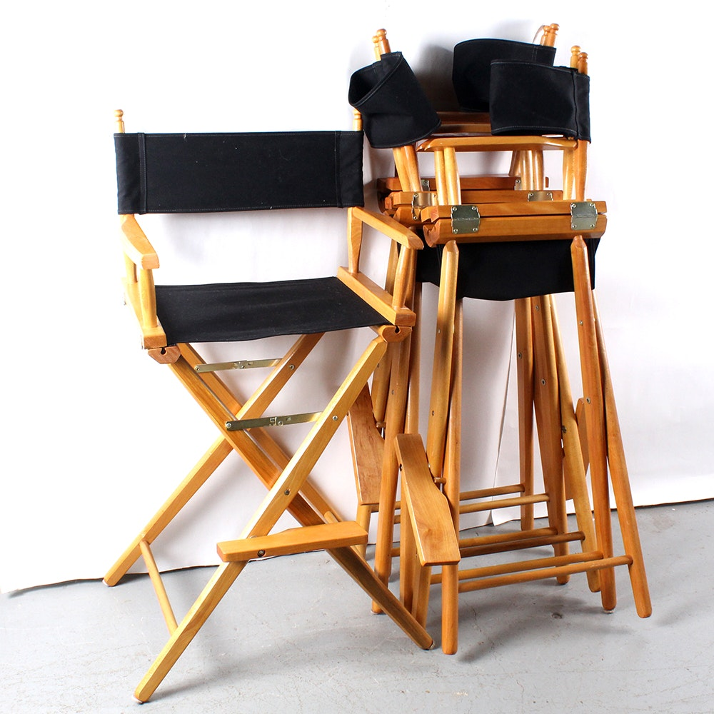 Barstool Height Director Chair Set Of Four