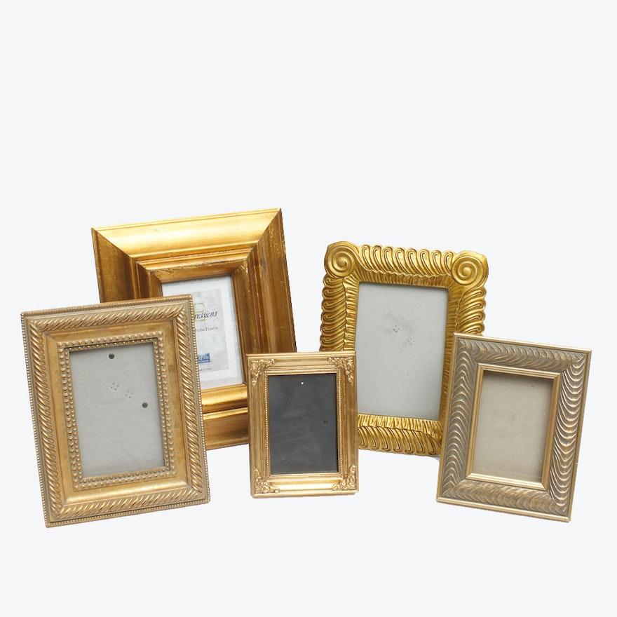 b96c8333da90 Assortment of Gold Tone Decorative Picture Frames   EBTH