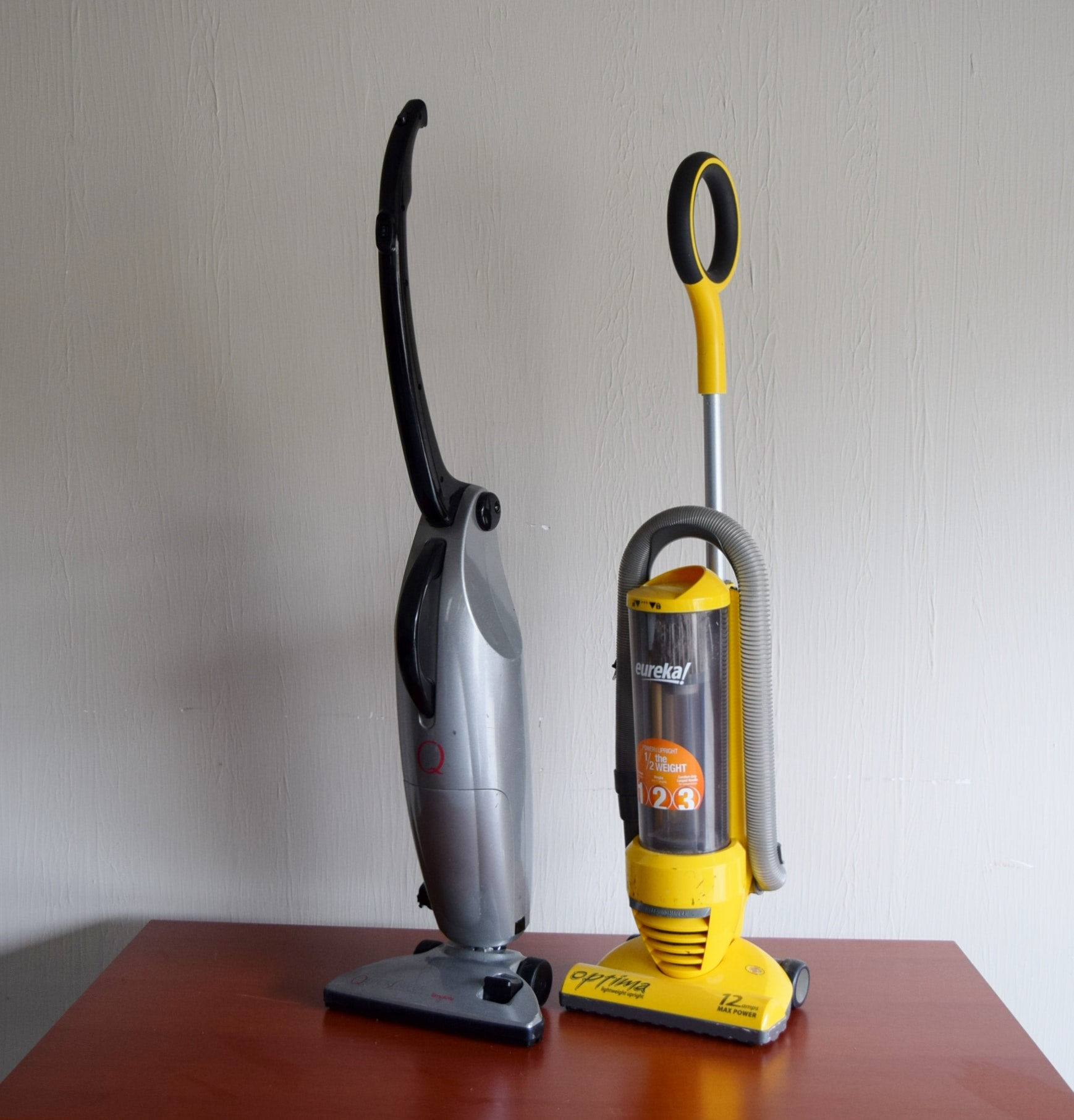 Pair of Lightweight Vacuum Cleaners