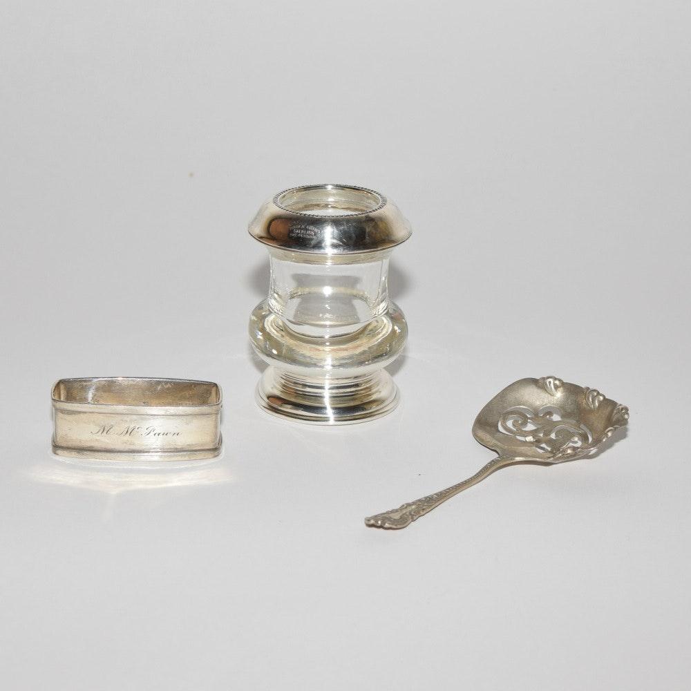Vintage Sterling Silver Tableware